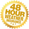 48 hour rain guarantee